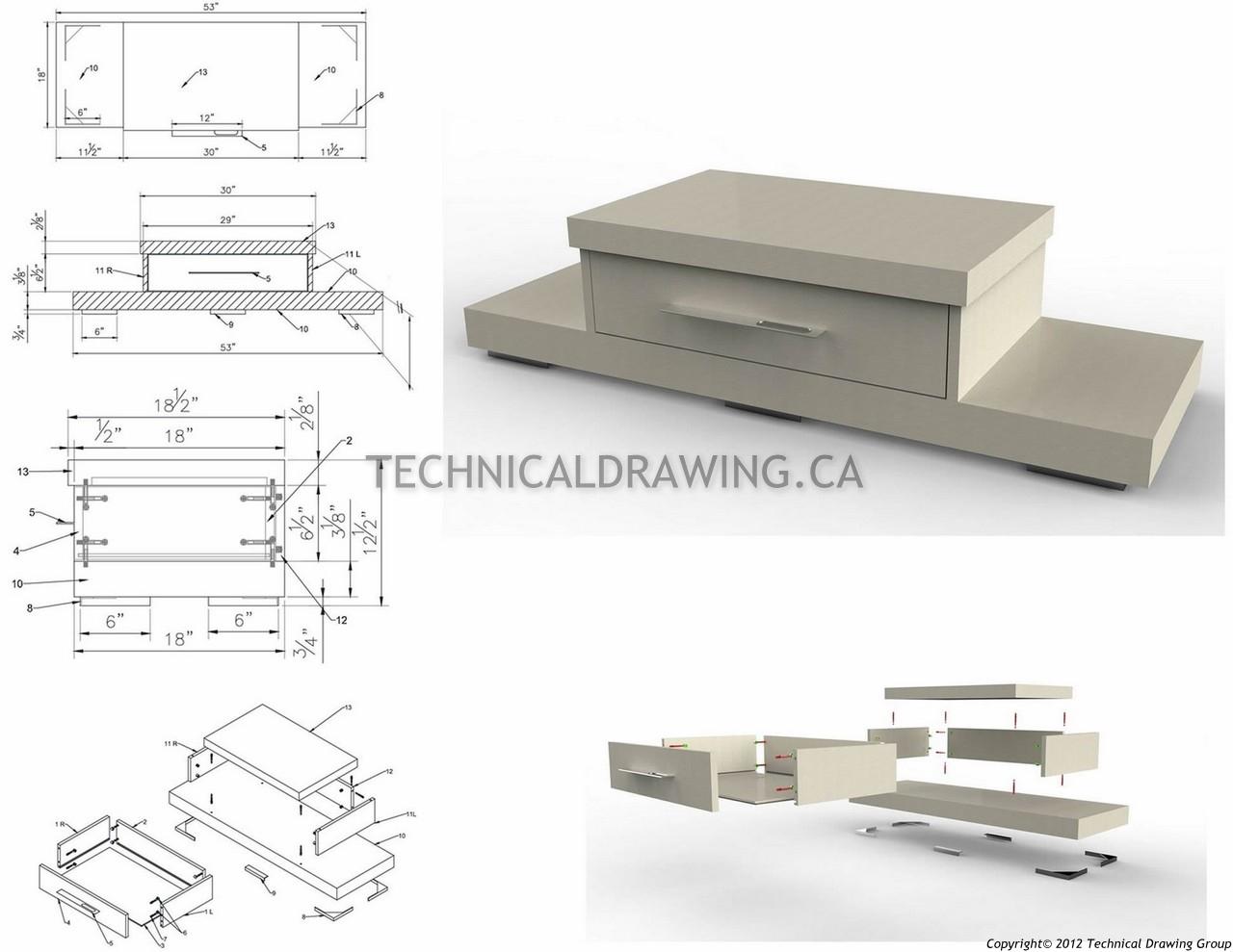 Cabinet Shop Drawings GTA