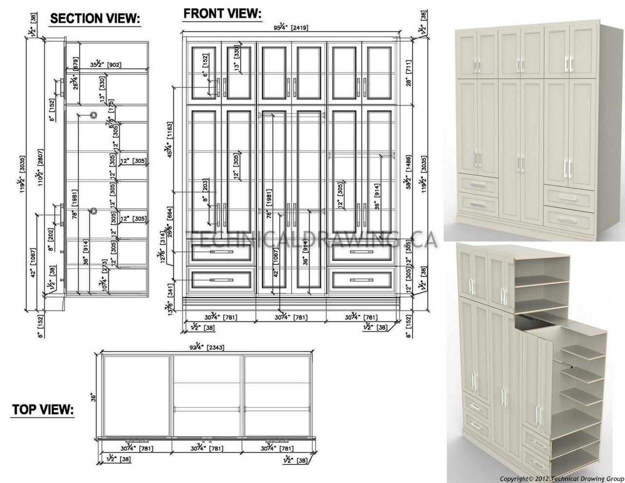 Cadkitchenplans com millwork shop drawings cabinet shop drawings - Millwork Shop Drawings Gta